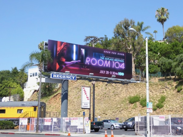 Room 104 HBO series billboard