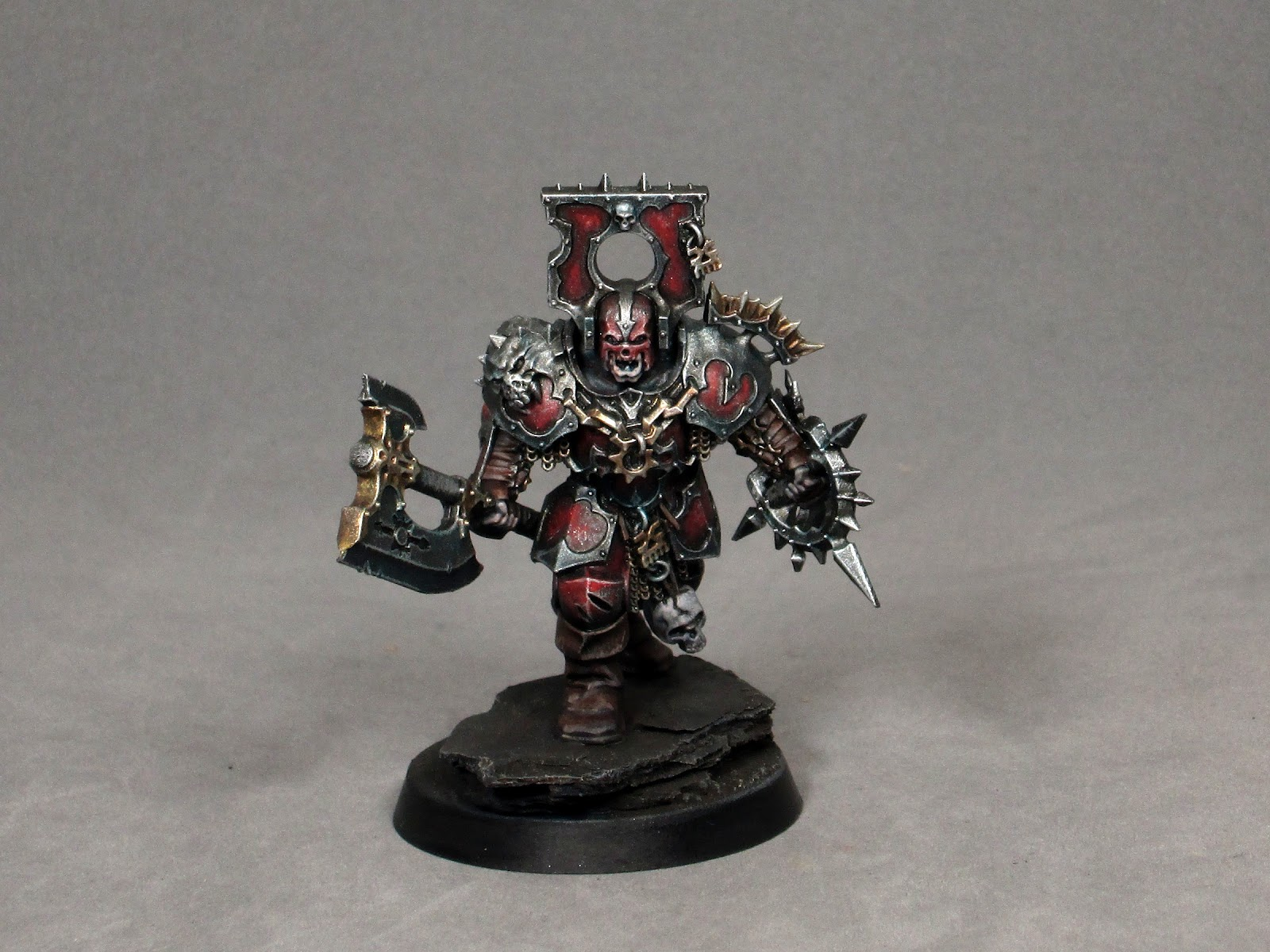 Opponenttheory Age Of Sigmar Painting Khorne Blood Warrior