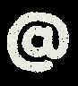記号のペンキ文字「アットマーク」