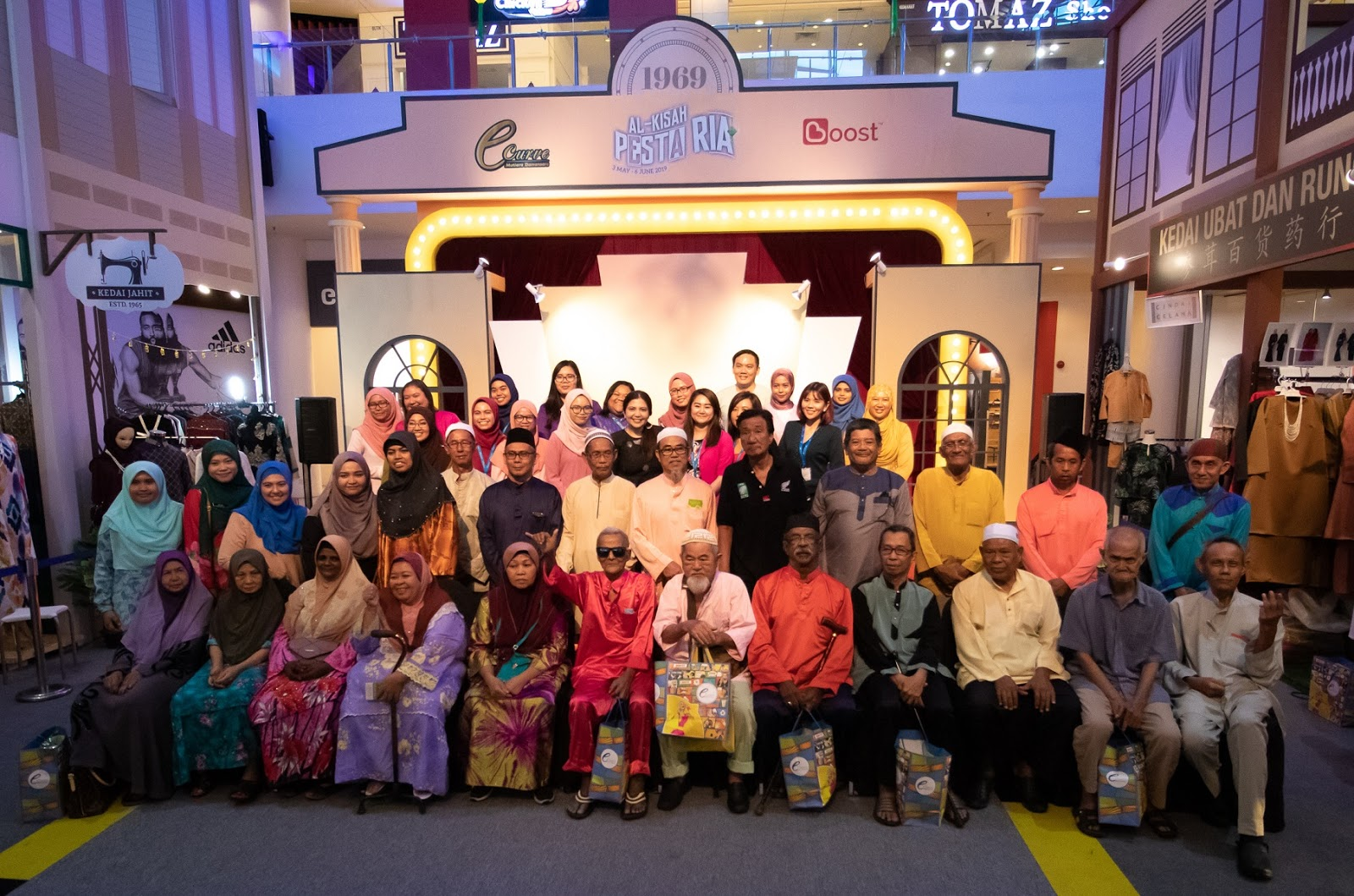 eCurve meraikan Ramadhan Penuh Nostalgia Buat Warga Emas Pusat Jagaan AlFikrah