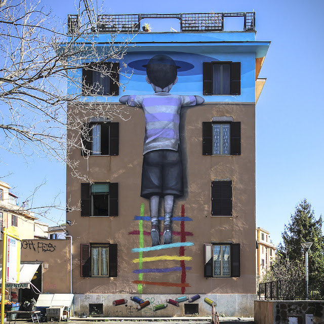 Visita guidata ai Murales di Tor Marancia, Roma