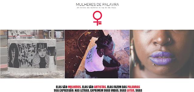 """A publicação """"Mulheres de Palavra: um retrato das mulheres no rap de São Paulo"""", esta disponível pra download em PDF"""