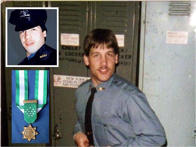 Policía asesinado presuntamente por dominicanos en 1988 en el Alto Manhattan honrado con la Medalla de Honor del NYPD