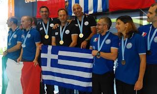 Ο Βασίλης Καλογερόπουλος κατέκτησε το χρυσό με την Εθνική Ομάδα Υποβρύχιας Σκοποβολής