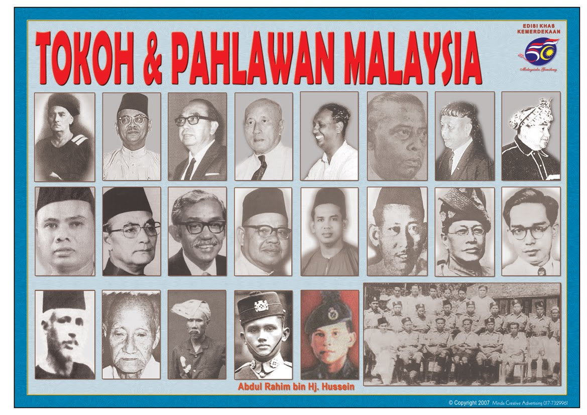 Gambar Tokoh Pejuang Kemerdekaan Tanah Melayu