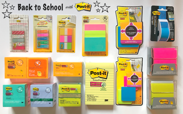 Get Organized for Back to School With Post-it