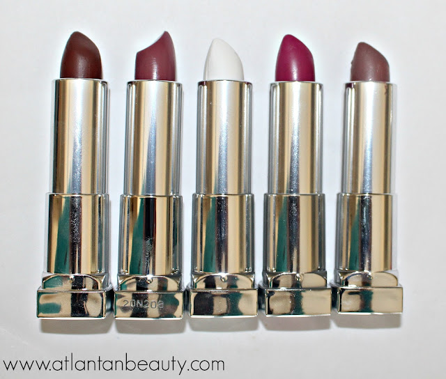 Maybelline Loaded Bolds Lipsticks