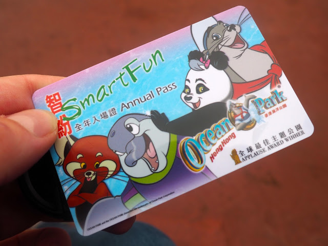 Annual Pass to Ocean Park, Hong Kong
