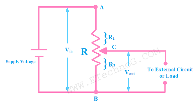 Connection Diagram of Potentiometer