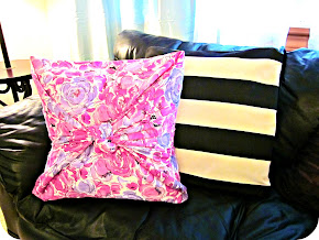 EASIEST No Sew Pillow Tutorial!
