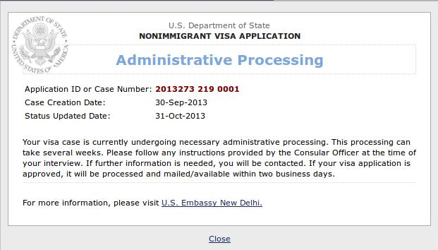 Administrative Processing Us Visa Wait Time