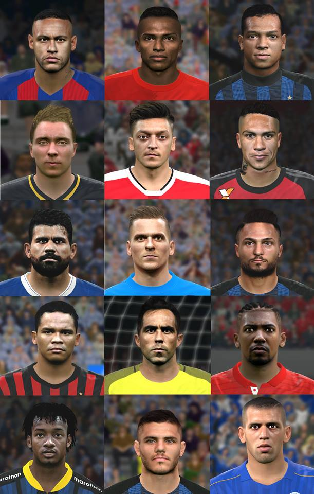 Facepack V4 PES 2016 & 2017 - PC