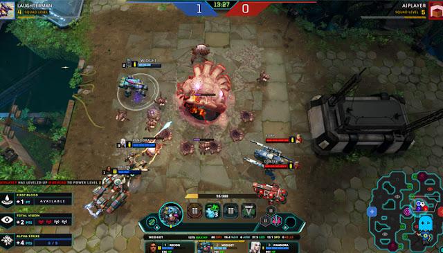 Dropzone Gameplay