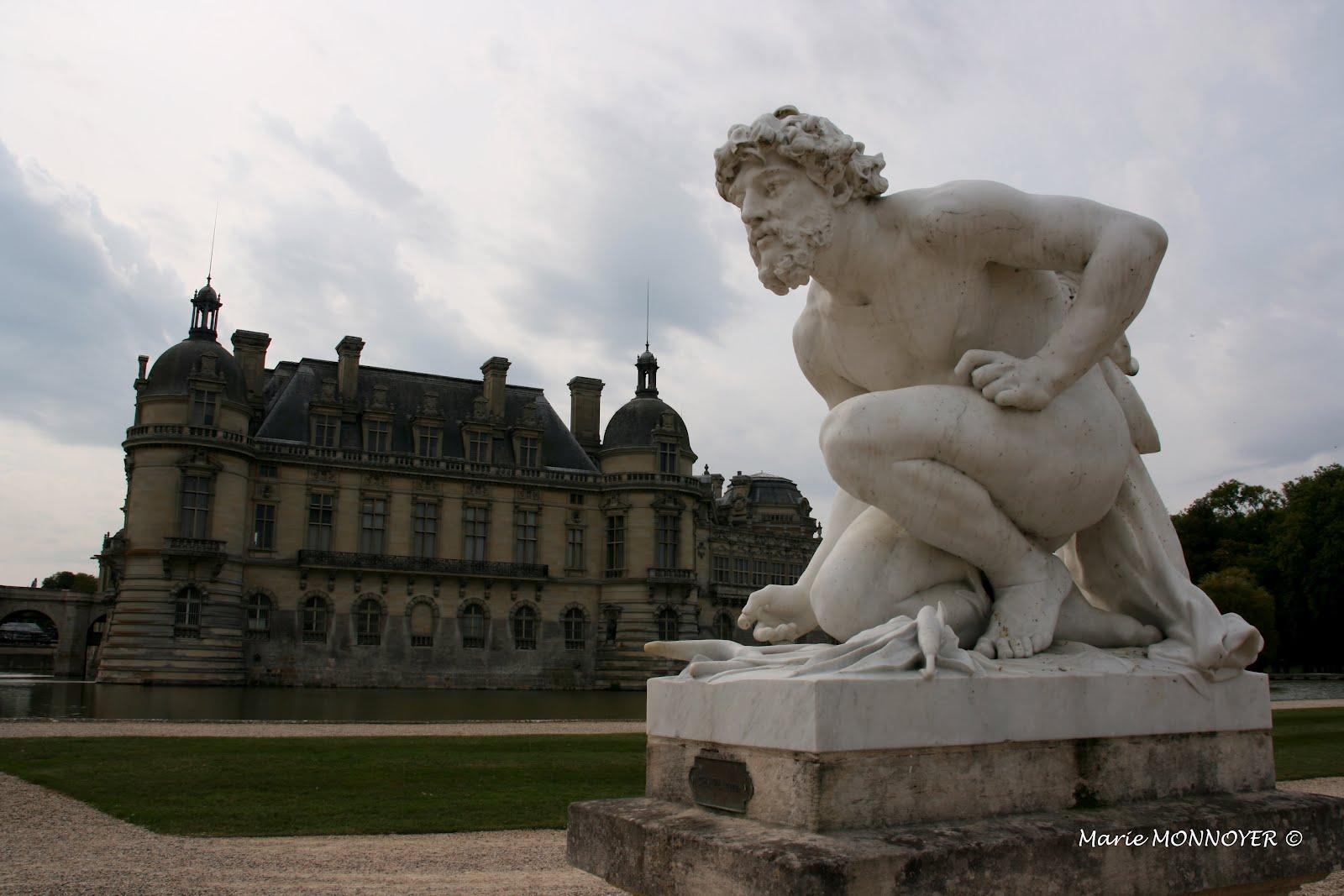 château de chantilly visite