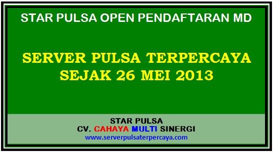 Star Pulsa Server Pulsa Terpercaya