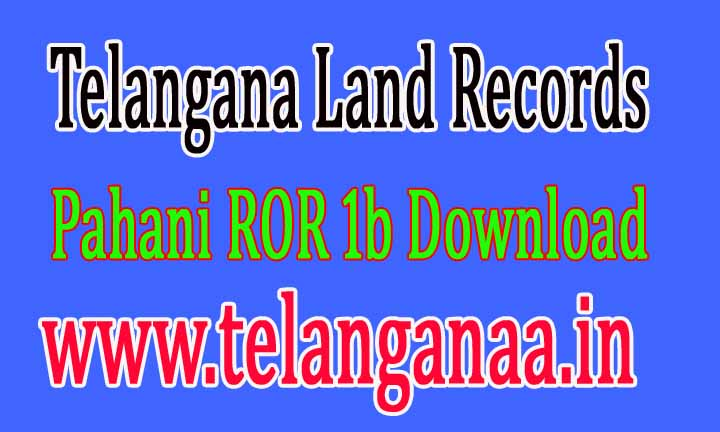 Telangana TS State Land Records Survey Number Khatha Number Corrections Online