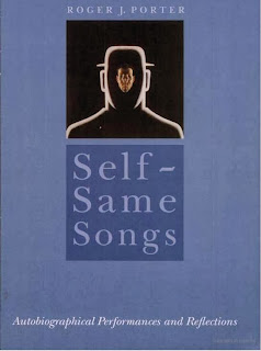 cover of self same songs autobiography performances and reflections. chapter on W. Somerset Maugham