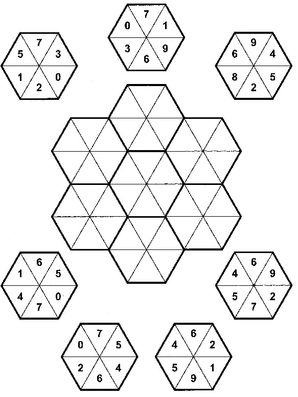 Sharpen Your Brain: Hexagony