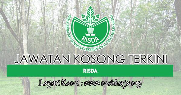 Jawatan Kosong Terkini 2018 di Pihak Berkuasa Kemajuan Pekebun Kecil Perusahaan Getah (RISDA)