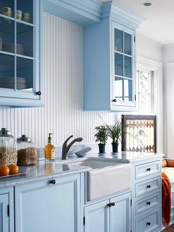 Ideas For Blue Kitchen Walls Czytamwwannie S