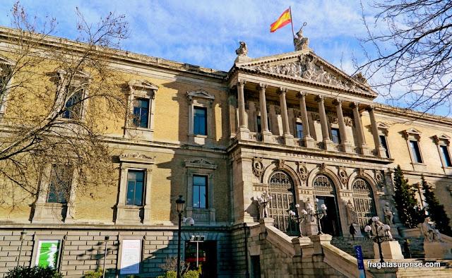Madri, Biblioteca Nacional de Espanha