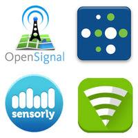 OpenSignal, Sensorly, Roortmetrics, MyMobileCoverage
