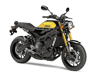 Yamaha XSR900 2016 60th Anniversary Yellow