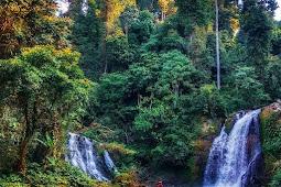 Air Terjun Kipas 1 & 2 Desa Datar Lebuay Kecamatan Air Naningan Tanggamus Lampung