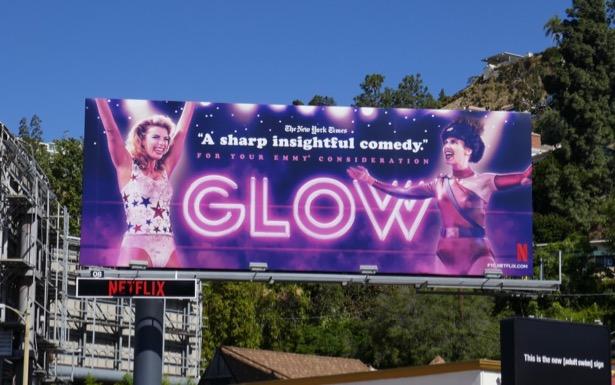 GLOW season 2 Emmy FYC billboard