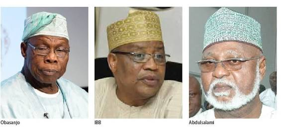 IBB, Obasanjo, Abdulsalami Abubakar are conspiring against Buhari – Lawmaker, Kassim claims