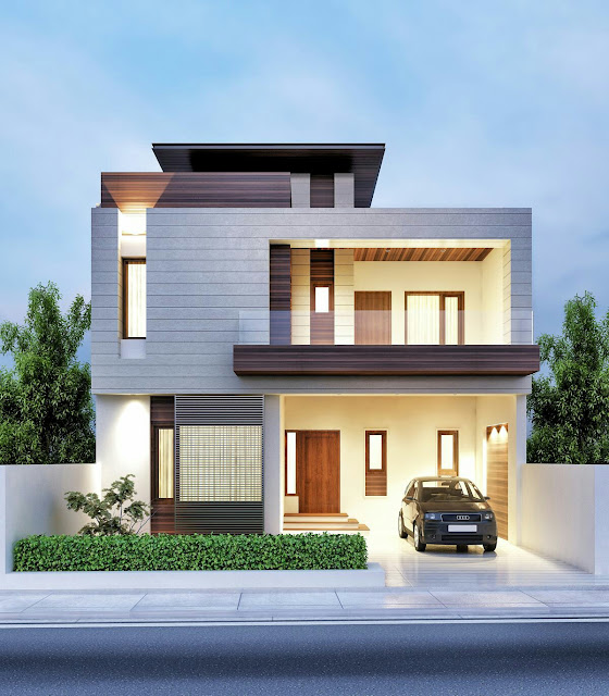 When you're planning to build house especially if your own, you always thinking the best exterior to amaze people. It will take time but at least you have enough time to meet your fantasy exterior design. See these 55 photos of stunning exterior house design that will leave you speechless.