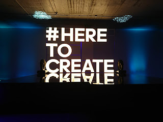 #HereToCreate