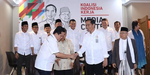 Erick Thohir Tegaskan Kepada Publik Kalau Pak Jokowi Pekerja Keras Dan Rajin Shalat Karna Itu Saya Menjawab Kritikan Prabowo Subianto
