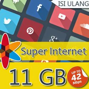 paket internet indosat im3 11GB