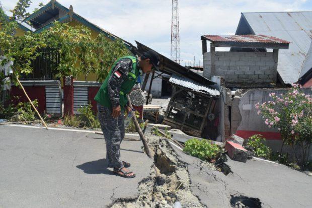 Pasca Gempa Palu, Tanah di Perumahan Balaroa Bergeser Tiap Hari