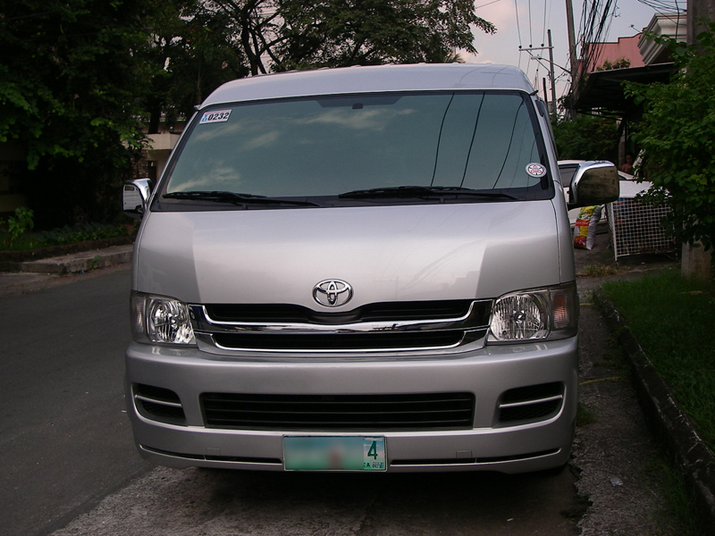Cars For Sale In The Philippines 2010 Toyota Hiace Gl Grandia