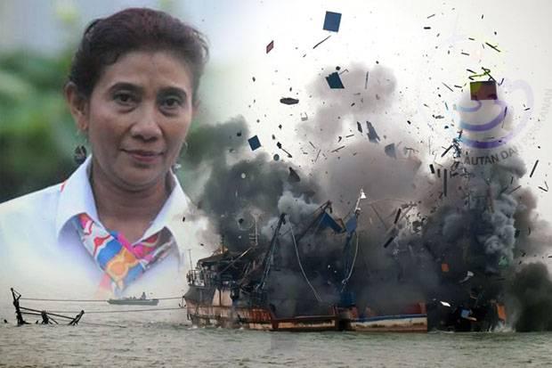Menteri Susi Kembali Akan Tenggelamkan Kapal Berbendera Malaysia
