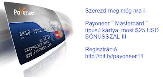 payoneer kártya