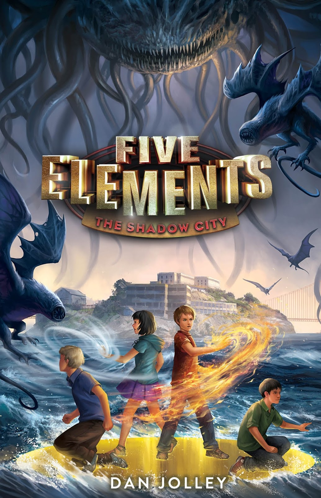 Dan Jolley Five Elements #2: The Shadow City Published By Harpercollins  (july 25