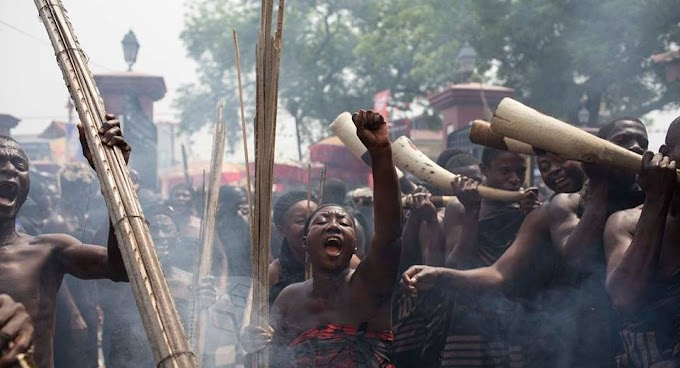 Woman shot at Okuapeman's  queenmother's funeral