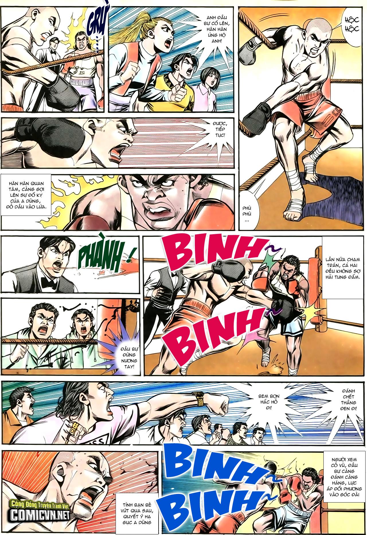 Người Trong Giang Hồ chapter 195: sóng gió ngút trời trang 12