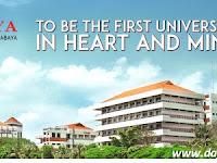 Daftar Fakultas dan Jurusan UBAYA Universitas Surabaya Lengkap Terbaru