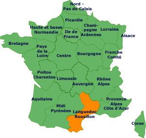carcassonne frança mapa Dicas Práticas de Francês para Brasileiros: Região Languedoc  carcassonne frança mapa
