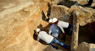 Etruscan tomb discovered at Vulci