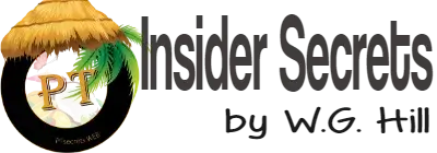 Insider Secrets by W.G. Hill - Author, Entrepreneur & Self-Made Millionaire