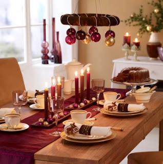 decoración navideña para el comedor, comedores navideños bonitos, como decorar mi comedor en navidad
