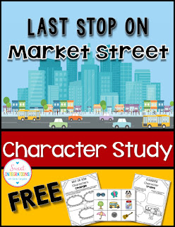 Last Stop on Market Street is filled with life lessons. This post contains a book summary, character study and ways to use visualization. A FREE product is included.