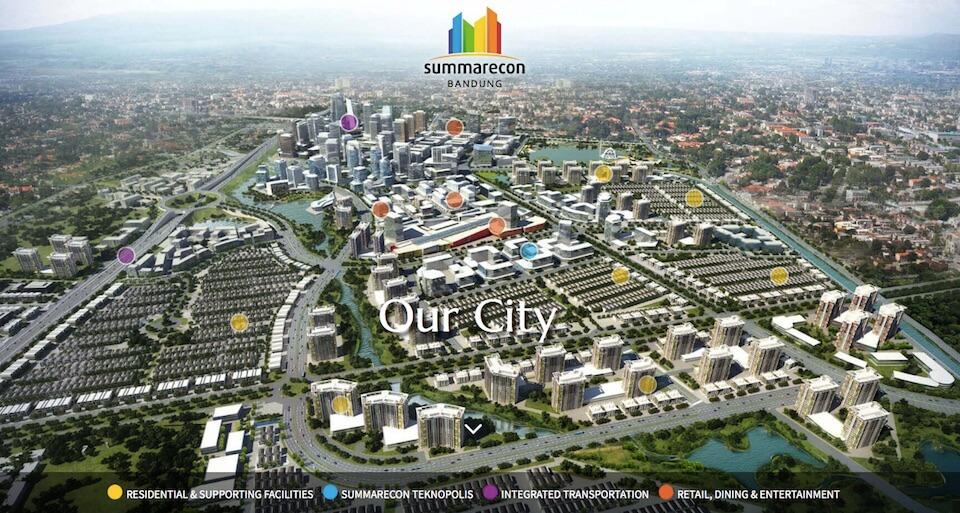 Master Plan Summarecon Bandung