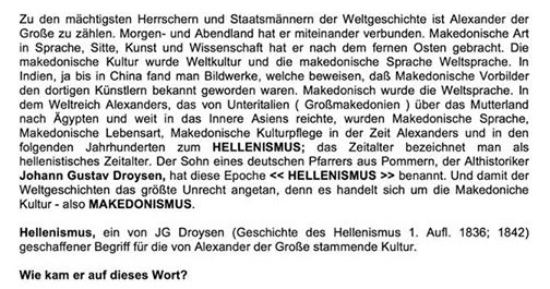 droysen hellenismus