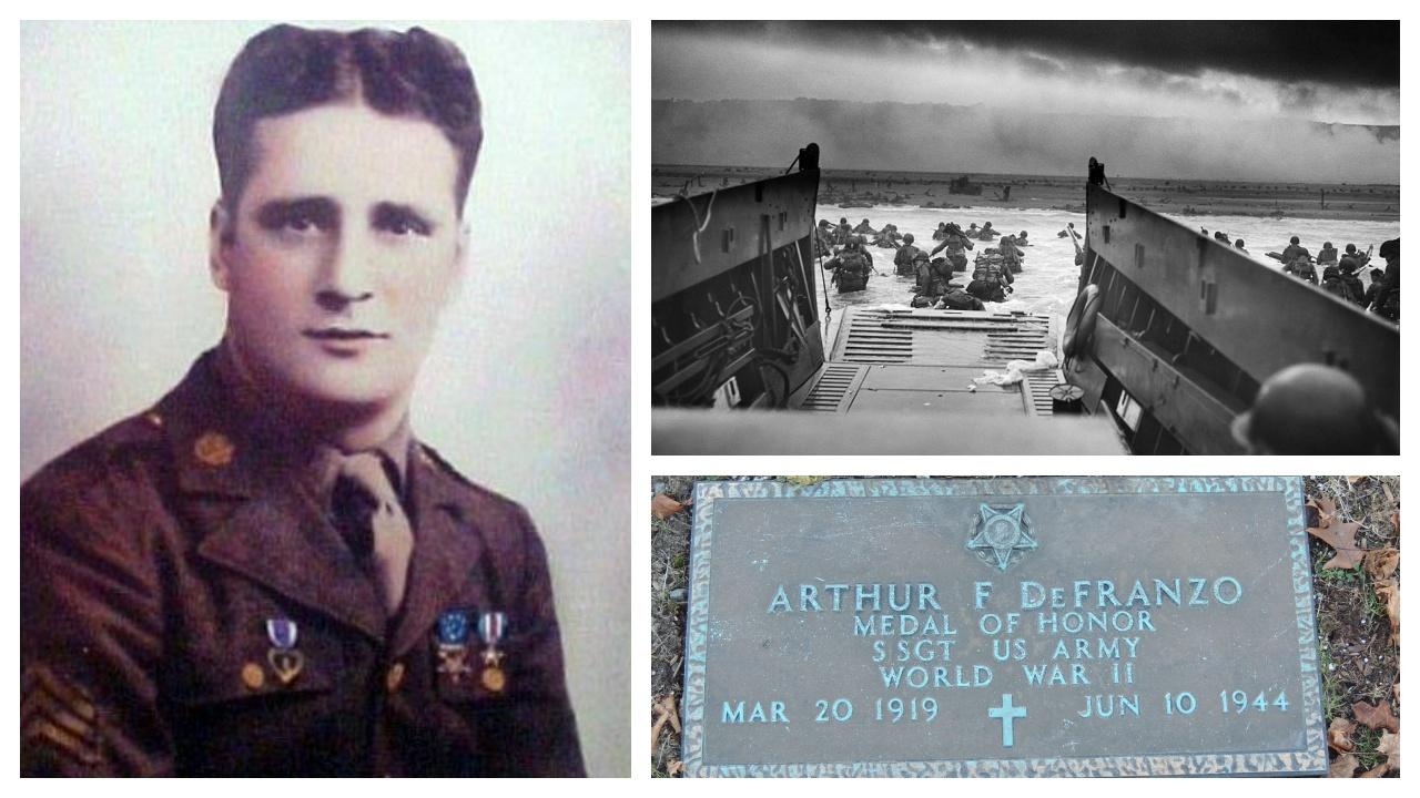 WW2 Fallen 100: WW2 Normandy Fallen - Medal of Honor hero